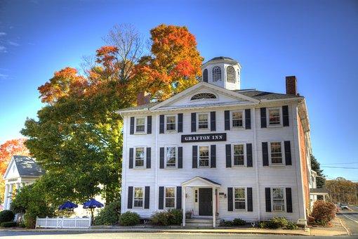 Inn, Restaurant, New England, Pub, Tavern, Rustic