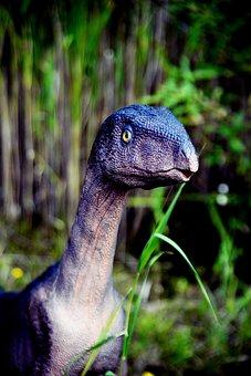 Dinosaur, Dino, Reptile, Sculpture