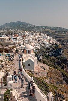 Santorini, Greece, View, Travel, Island