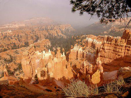 Bryce Canyon, National Park, Utah, Landscape, Scenic