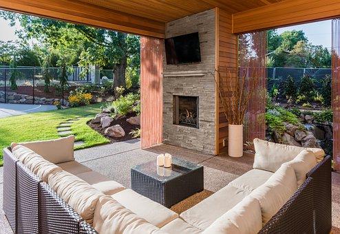 Patio, Backyard, Deck, Porch, Garden, Yard, Home