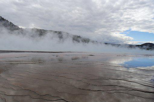 Yellowstone National Park, Usa, Travel, Landscape