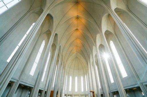 Church, Architecture, Cathedral, Interior, Religion