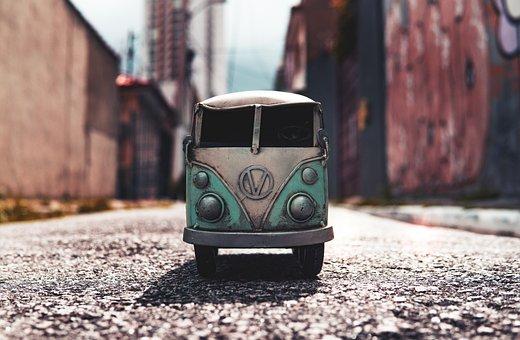 Van, Bus, Volkswagen, Automobile
