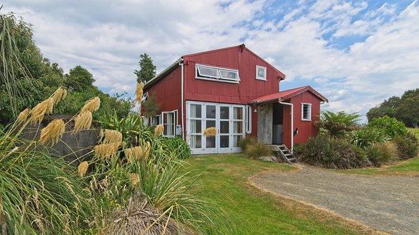 Nz, New Zealand, North Island, Tin Shack, Alpine, Cabin
