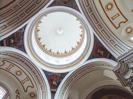 Church, Dome, Architecture, Cathedral, Religion