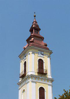 Church Tower, Reformed, Sárospatak, Hungary, God, Faith