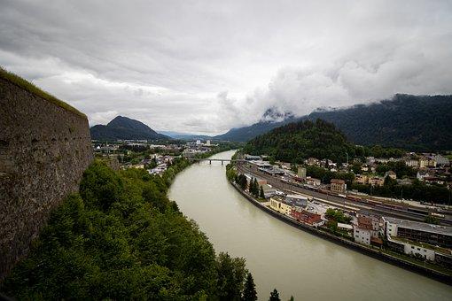 Kufstein, Austria, Tyrol, City, Alps