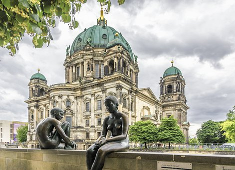 Berlin, Church, Images, Germany, Historical, Dome, City