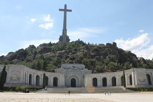 Spain, Valley Of The Fallen, Franco, Cruz, Mountain