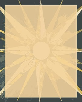Flyers, Backgrounds, Stars, Suns, Stationery, Gold