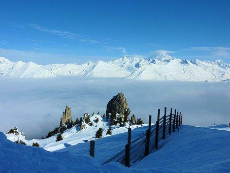 France, Winter Sports, Landscape