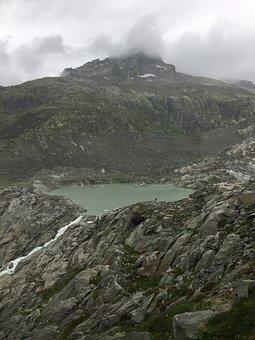 Rhone, Source, Glacier, Furka, Switzerland