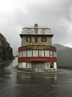 Rhone, Glacier, Hotel, Restaurant, Belvedere, Furka