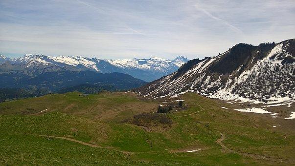 Lake, Mountain, Haute-savoie, Lake Roy, Alps, Nature