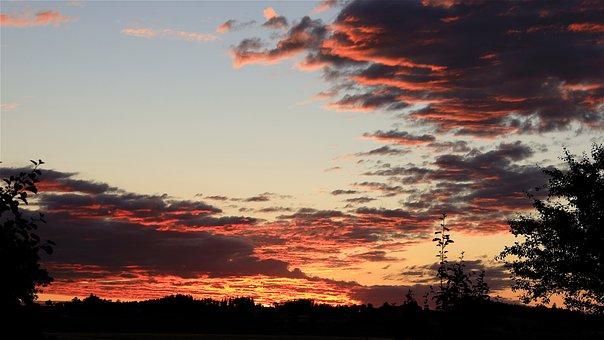 Morgenrot, Sunrise, Morgenstimmung, New Beginning