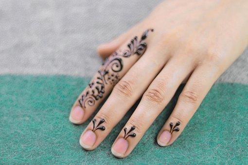 Nails, Mandala, Jewelry, Body, Artist, Paint, Mehendi