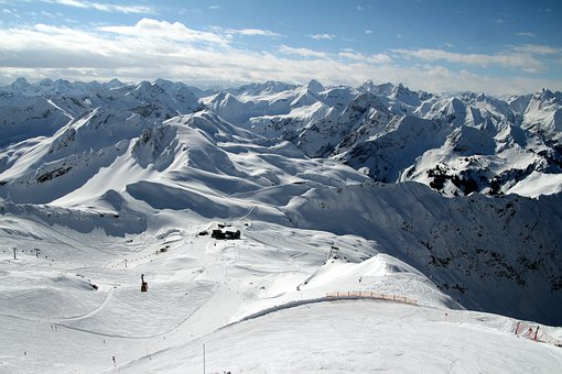 Alpine, Ski Area, Oberstdorf, Foghorn, Skiing, Ski Run