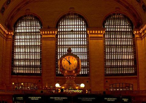 New York, Central Station, Station, Transport, Railway