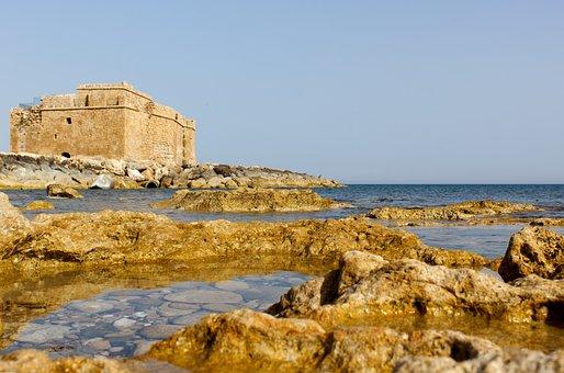 Castle, Defense, Sea, Ancient, Rocks