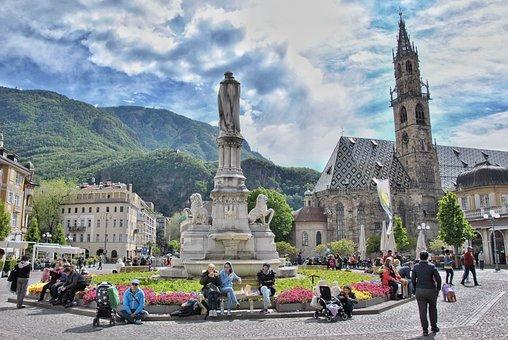 Bozen, South Tyrol, Italy, Vacations, Italian, Travel