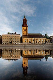 The German Church, Gothenburg, Port, City, Sweden