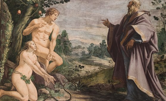 Eden, Adam, Eve, Bible, Tree, Creation, Temptation