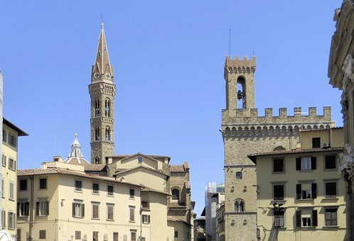 Italy, Florence, Roofing, Church, Dome, Castel, Tuscany