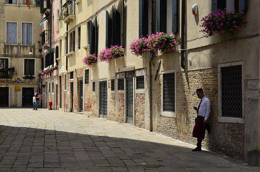 Italy, Venice, Water, Channel