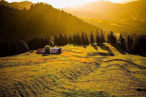 Germany, Alps, Wallpaper, Bavaria, Mountains, Landscape