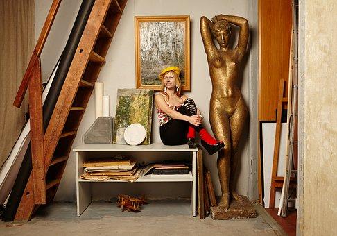 Workshop, Sculpture, Pictures, Artist, Creative People