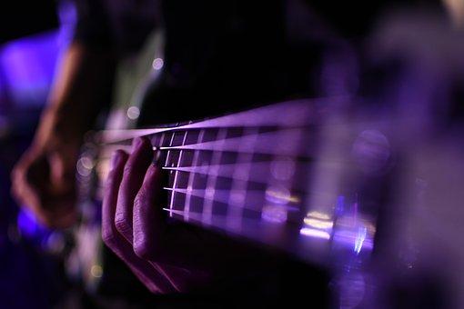 Bass, Music, Song, Guitar, Sound, Listen, Musical