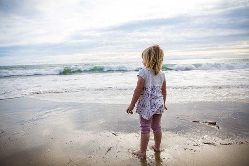 Waves, Sand, Pacific, Beach, Sea, Ocean, Water, Summer