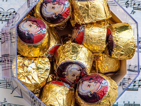 Sweet, Chocolate, Mozart, Candy, Specialty, Cocoa
