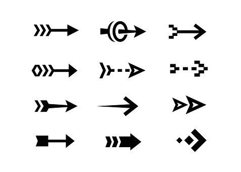 Arrow, Icon, Symbol, Direction, Web, Download, Design