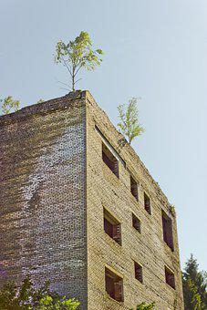 Surreal, Abandoned, Building, Decay, Fantasy, Mystical