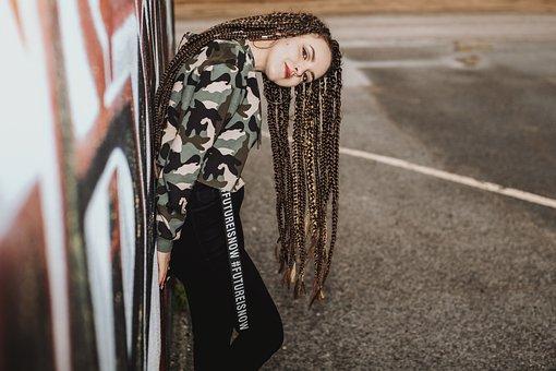 Girl, Hairstyle, Dreadlocks, Hair, Afro-locks, Afrocos