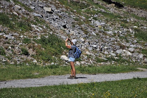 Rocks, Trekking, Tourist, Hiking, The Path