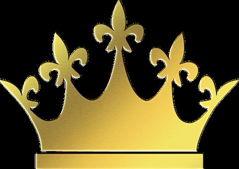 Gold Crown, King, Tiara, Crown, Gold