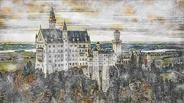 Architecture, Kristin, Castle, Fairy Castle