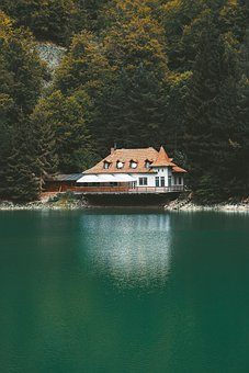 Lake, Nature, Landscape, Water, Mountains, Sunrise