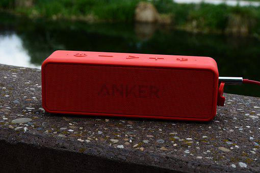 Music Box, Anchor, Listen, Chill Out, Relax, Red