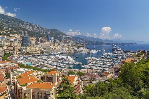 Monaco, Marina, Port, Luxury, Wealth, Boats, Travel