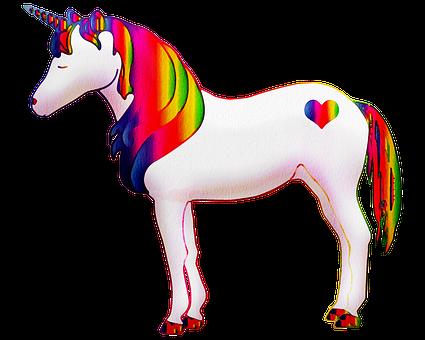 Watercolor Unicorn, Unicorn, Colorful, Rainbow, Magic