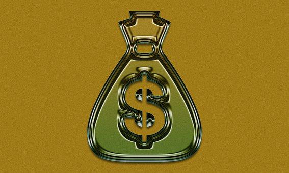 Gold, Dollar, Money, Cash, Finance, Currency, Wealth