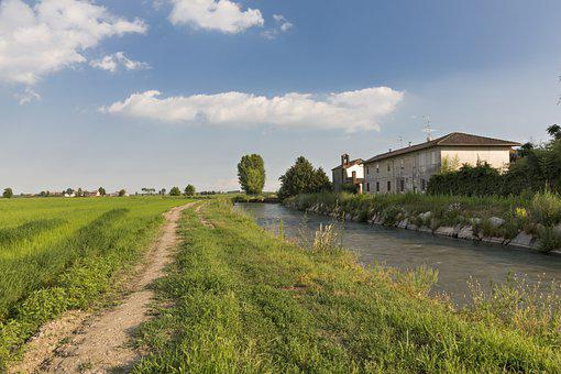 Campaign, Nature, Agriculture, Rural, Field, Ditch