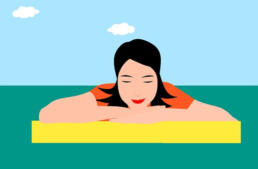 Relajacion, Relaxing, Woman, People, Outdoor, Relax