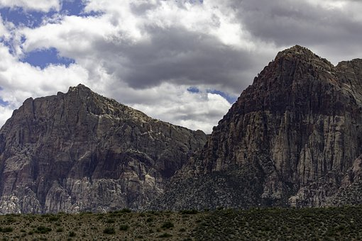 Red Rock Canyon, Nevada, Landscape, Scenic, Nature, Usa