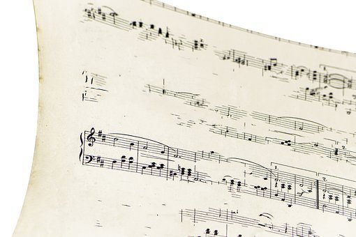 Faded, Old, Grunge, Vintage, Sheet Music, Cello, Violun