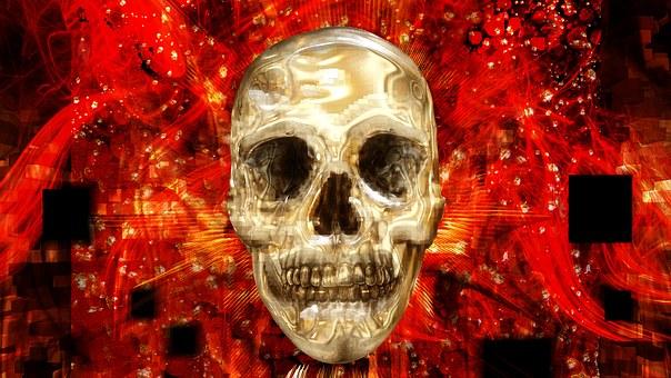 Death, Dark, Dante, Hell, Blind, Skeleton, Brain